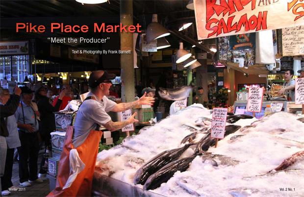 Pike Place Market By Frank Barnett